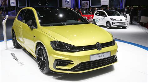 Vw Quietly Debuted Its Golf R Performance Package In Geneva