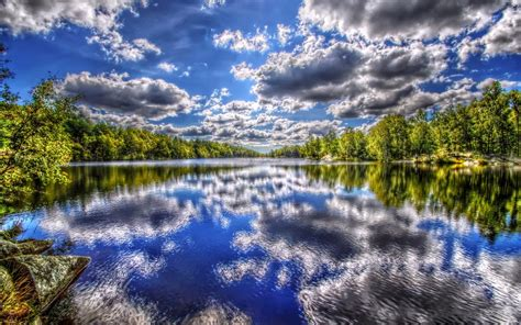 peisaje naturale reflexie poze super misto