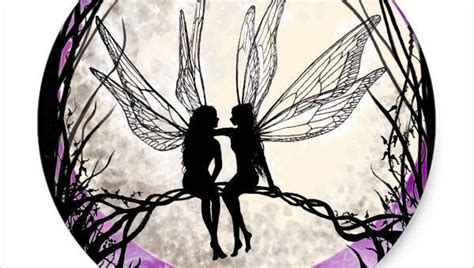 fairy silhouette printable   bewitching bowmans