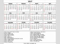 Indian Holidays calendar 2017 1 Printable 2018