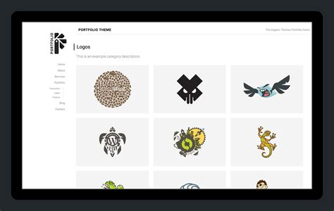 Themes For Artists Portfolio Theme A Theme For Artists And Designers