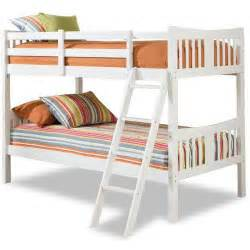 storkcraft caribou bunk bed white walmart com