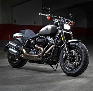Harley Custom Bike Gebraucht : harley davidson fat bob die inkarnation des b sen welt ~ Kayakingforconservation.com Haus und Dekorationen