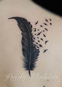 Espacio de Ideas, Edi: 50 tatuajes de plumas, aves y mensajes.