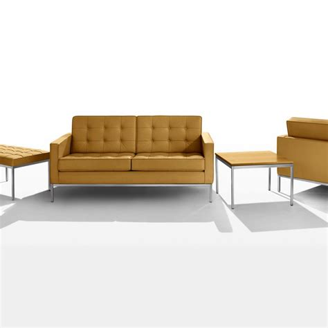 Knoll Settee by Florence Knoll Settee By Knoll Lekker Home