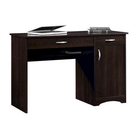 menards sauder computer desk sauder beginnings cinnamon cherry desk at menards 174