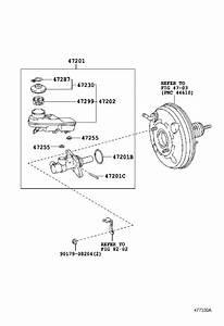 Scion Tc Brake Master Cylinder Reservoir  A Holding