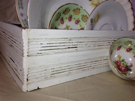 shabby chic wooden box wooden box shabby chic box white storage box by thecookieclutch
