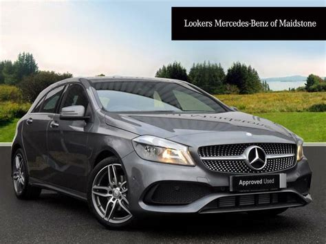 It looks more dynamic than its predecessor and is more agile on the road while offering greater comfort. Mercedes-Benz A Class A 180 D AMG LINE EXECUTIVE (grey) 2017-01-09 | in Maidstone, Kent | Gumtree