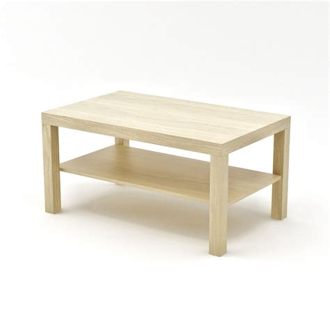 d and d table ikea lack side table large 3d model max cgtrader com