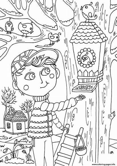 Coloring Spring March Pages Printable Peter Boy