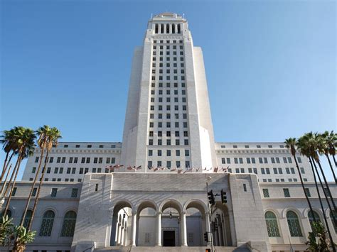 the most iconic buildings in los angeles mapped curbed la