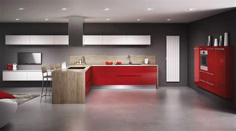 cuisine cerise aménager une cuisine avec les meubles simon mage