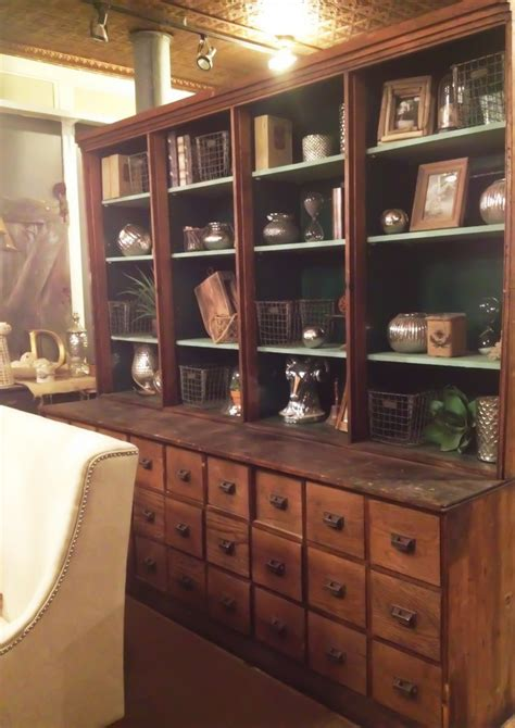 antique pharmacy apothecary cabinet