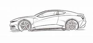 Lamborghini Side View Drawing Sketch Coloring Page