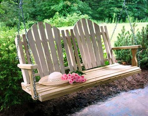 105 Best Images About Garden Swings And Benches On