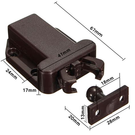 push  open beetles lock drawer cabinet latch catch touch