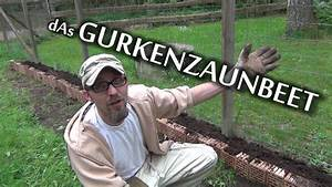 Gurken Im Hochbeet : das gurkenzaunbeet der aussteiger youtube ~ Orissabook.com Haus und Dekorationen