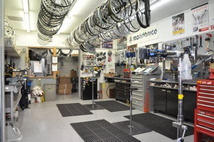 pin  donny perry  bike shop service area