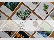 A year in Instagrams – Free printable calendar 2017