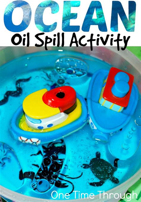 inspiring kids  protect  oceans oil spill activity