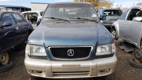 junkyard find 1999 acura slx the about cars