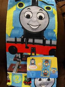 Thomas the tank friends train bath towel set for Thomas the train bathroom set
