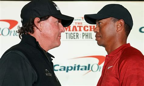 What time does The Match: Tiger vs. Phil start?