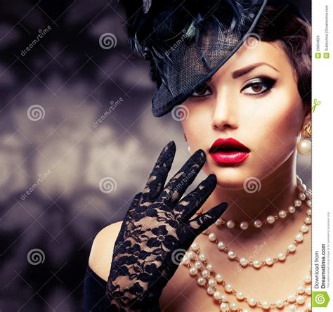 beauty retro style stock image image of beauty photo 29854629