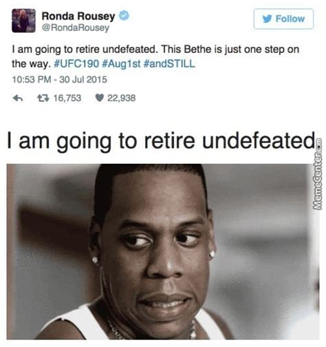 Rhonda Rousey Memes - view topic ronda rousey can take floyd mayweather