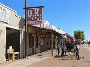 entrance picture of o k corral tombstone tripadvisor