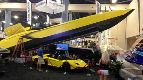 Midnight Express Powerboats Inc by Miami Boat Show Three Highs And A Low