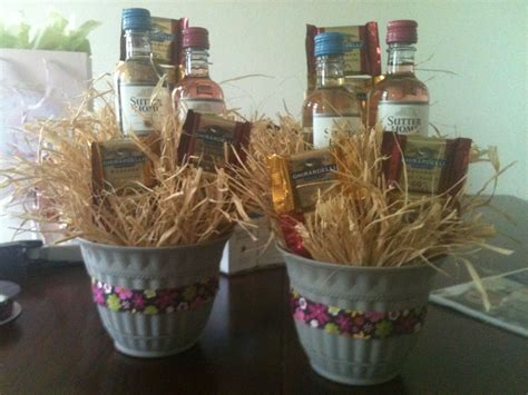 wedding shower gift basket ideas create small gift baskets with wine chocolate for your