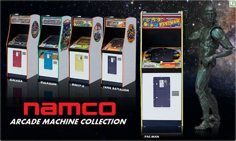 Galaga Arcade Machine Cheats by Turn Back Time With Namco 1 12 Arcade Machine Collection