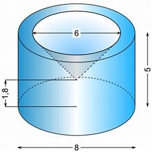 Körper Berechnen : flache zylinder berechnen beispiele von zylindern oben kreis und zylinder unten prismen formel ~ Themetempest.com Abrechnung