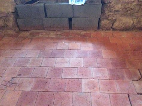 350 year original quarry tiles salvaged and restored