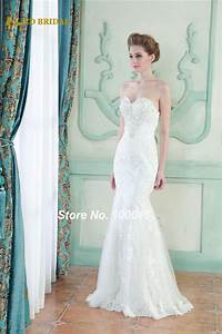 bridal gown real photo sheath no train lace wedding dress With wedding dress no train