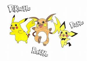 Image Gallery pikachu evolution