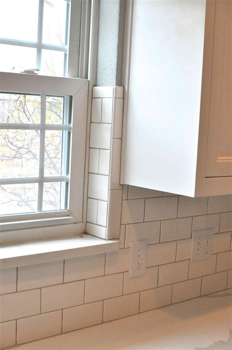 how to tile a kitchen window sill image result for tile around a window sill work 9583