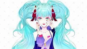 1049454, Illustration, Long, Hair, Anime, Anime, Girls, Looking, At, Viewer, Dress, Smiling, Cartoon
