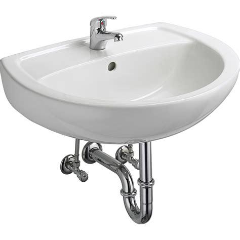 waschbecken mit armatur cmi waschbecken set 60 cm wei 223 mit armatur kaufen bei obi