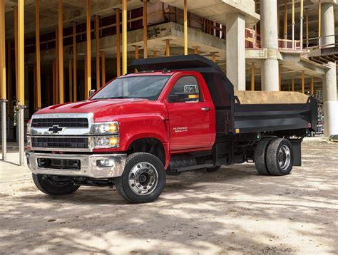 Heavy Chevy Silverado Name Appears On Mediumduty Trucks
