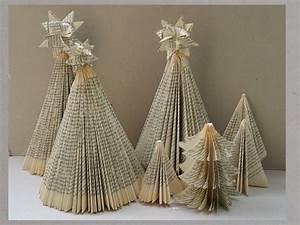 Weihnachtsbäume Aus Papier Basteln : anleitung weihnachtsbaum falten upcycling weihnachtsdeko diy dorothea koch pinterest ~ Orissabook.com Haus und Dekorationen
