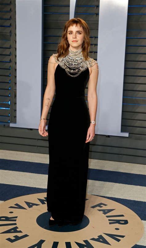 Emma Watson Had Giant Time Tattoo The Oscars
