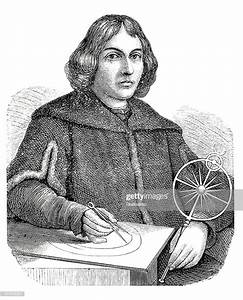 Engraving Of Astronomer Nicolaus Copernicus From 1870 ...  Nicolaus