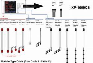Psu Modular Cables