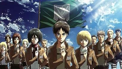 Anime Kyojin Shingeki Character Series Wallpapers Desktop
