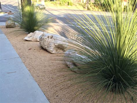 improve curb appeal replace grass with decomposed granite