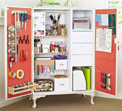 home office desk armoire office armoires furniture office 8 clever craft storage ideas the decorating files