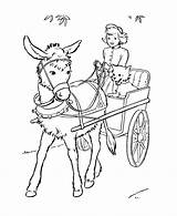 Donkey Coloring Pages Print Balaams Coloring2print sketch template